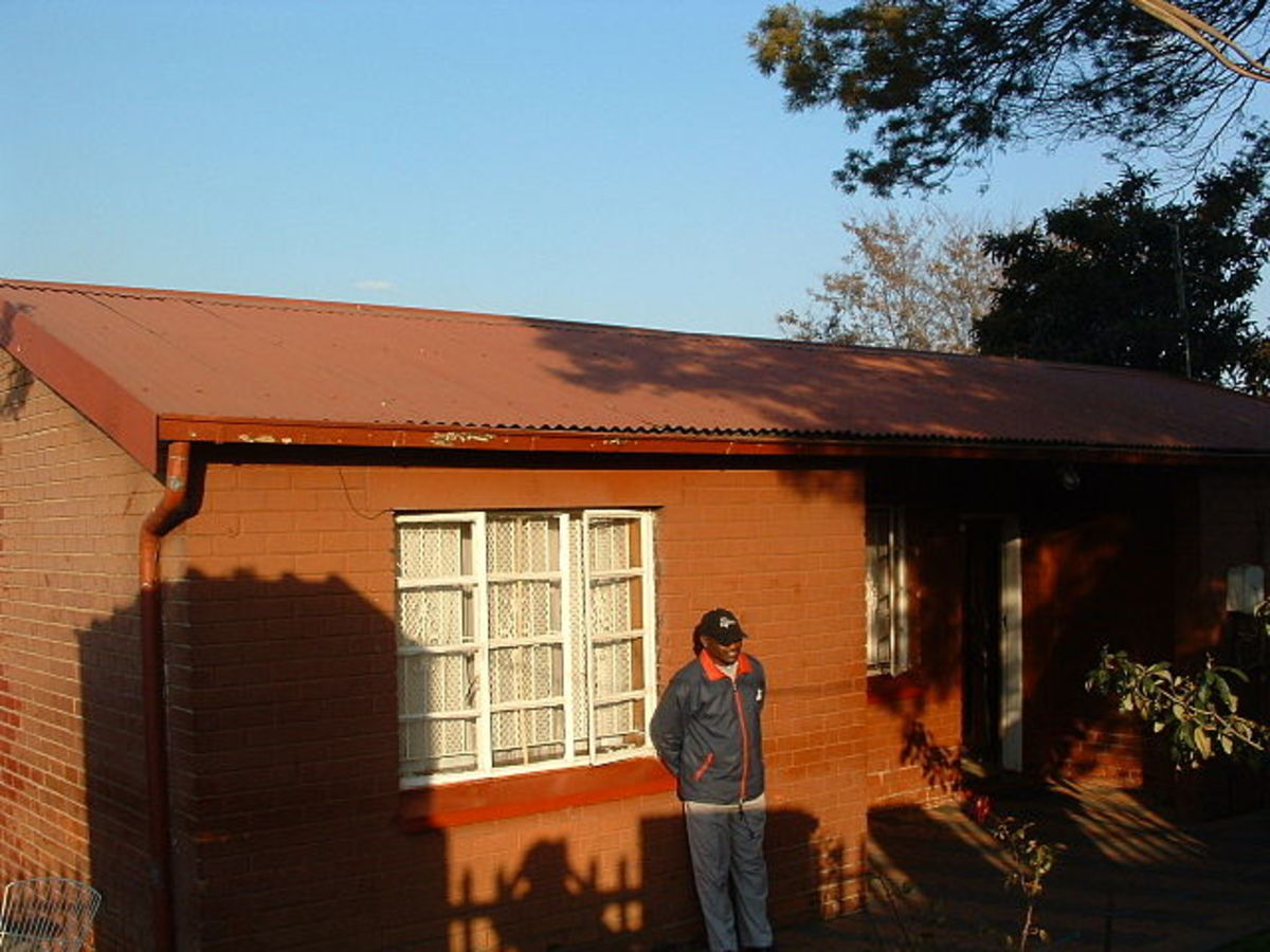 Winnie And Nelson Mandela's House/Home in Orlando West