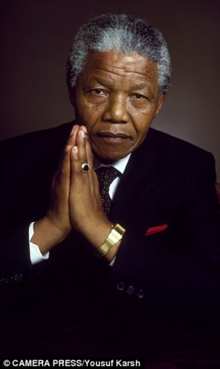 "Tata ""The Black Pimpernel"" Mandela A descendant of kings who became the most famous black man in history: Life and legacy of Nelson Mandela, the secular saint who refused to give in to hate'During my lifetime I have dedicated myself to the struggle o"