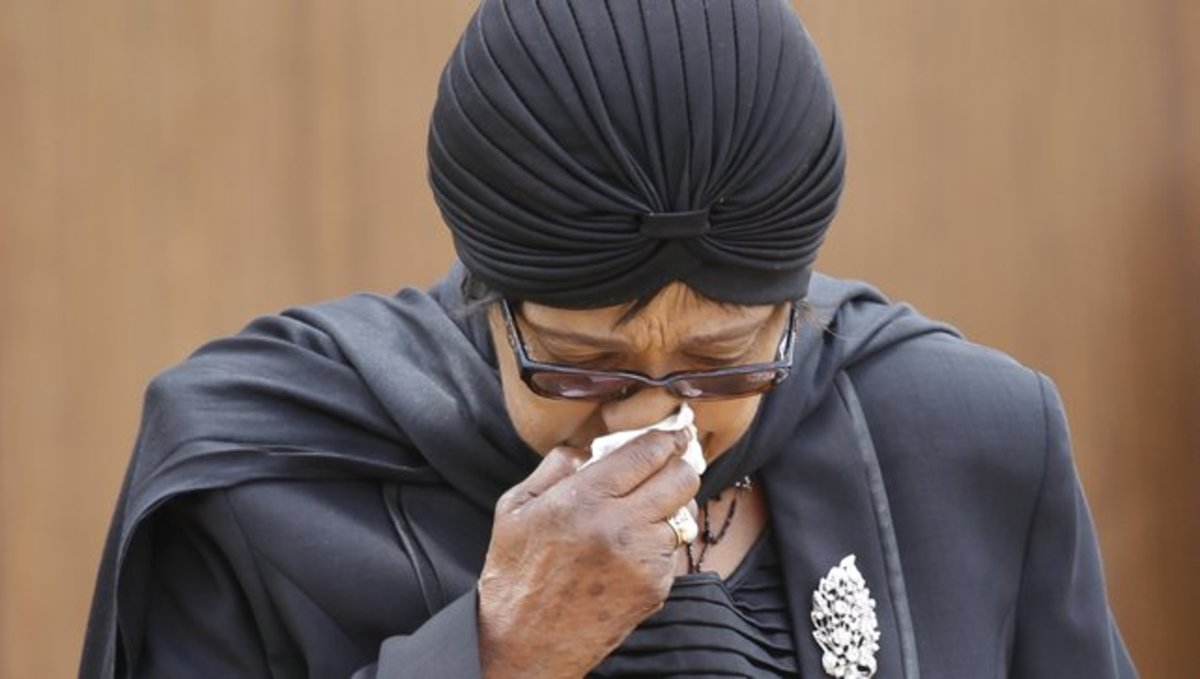 WeWeep for you and with you See Sis Winnie. Thutuzeka - All weill be Goo