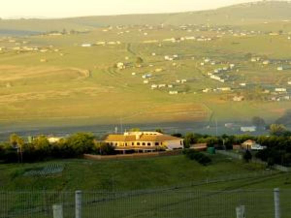 The sun rises over the home of Former President Nelson Mandela's home in Qunu, Eastern Cape.