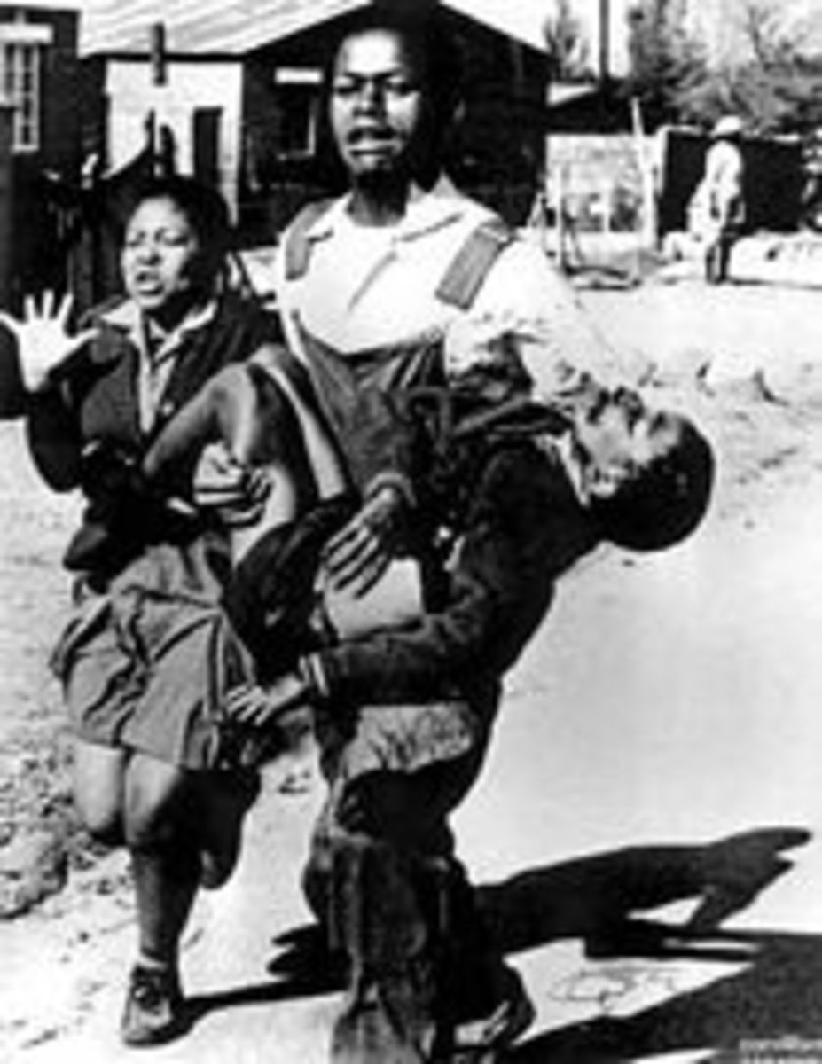 The First victim of the Apartheid regime in the 1976 Students revolt - Hector Peterson