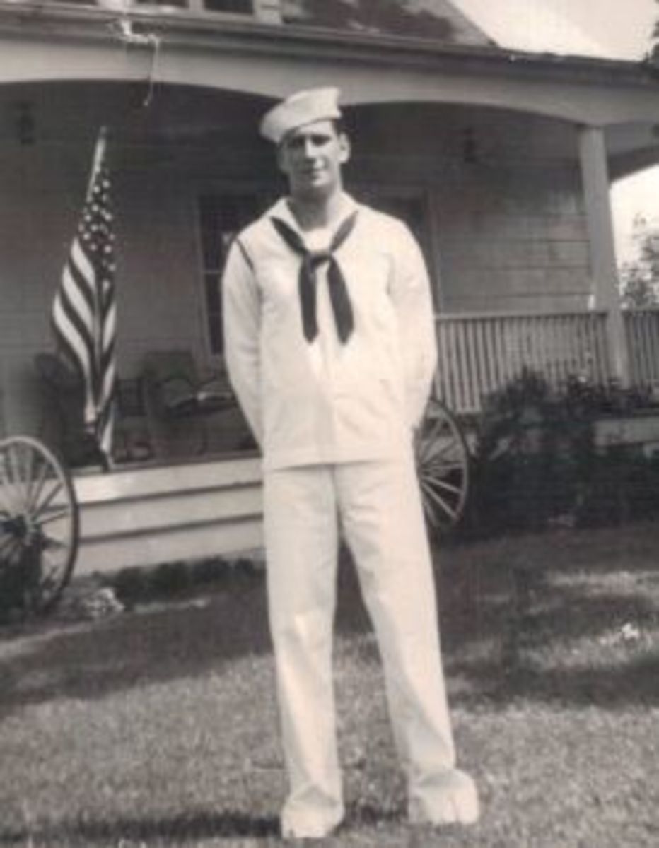 My dad, the sailor