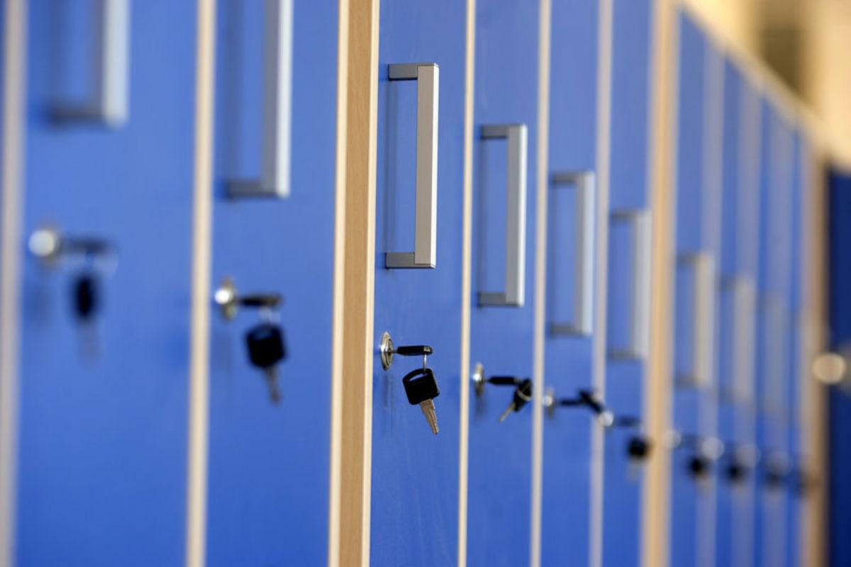 charity shop lockers