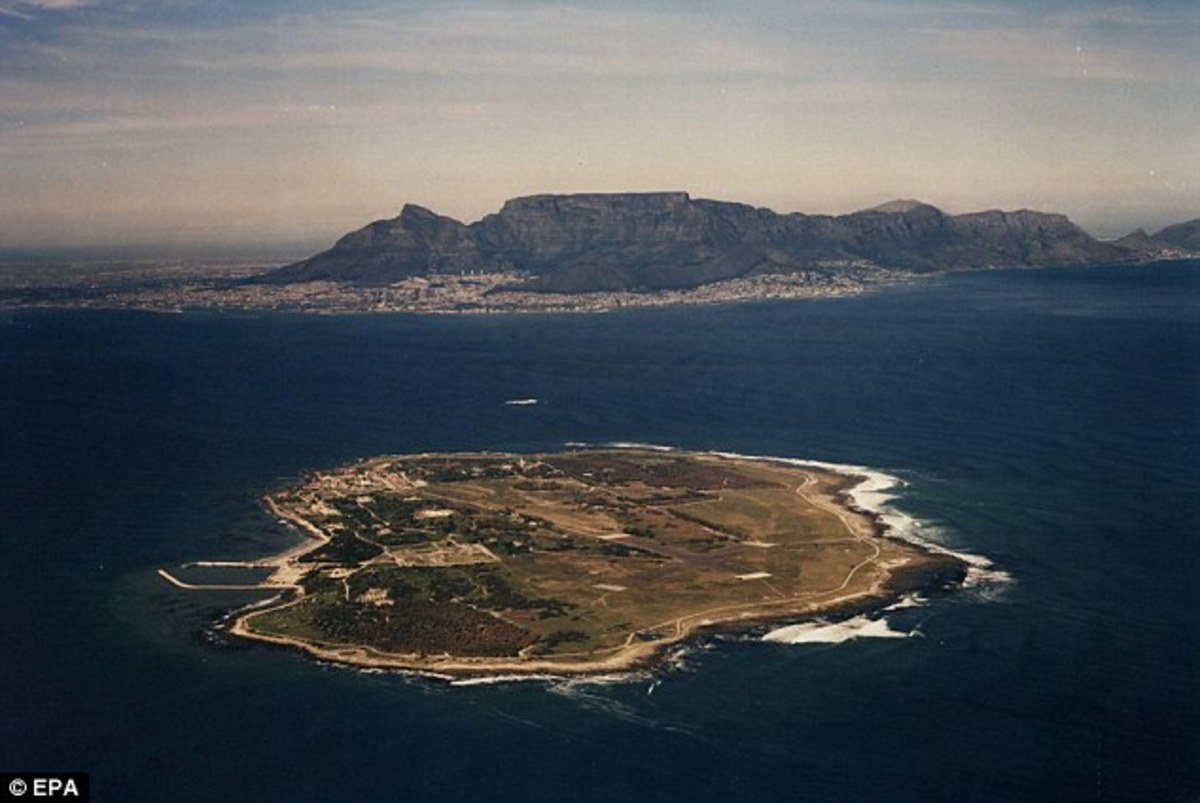 Robben Island: Political prisoner: Mandela spent 18 of his 27 years in prison on Robben Island in Cape Town's Table Bay