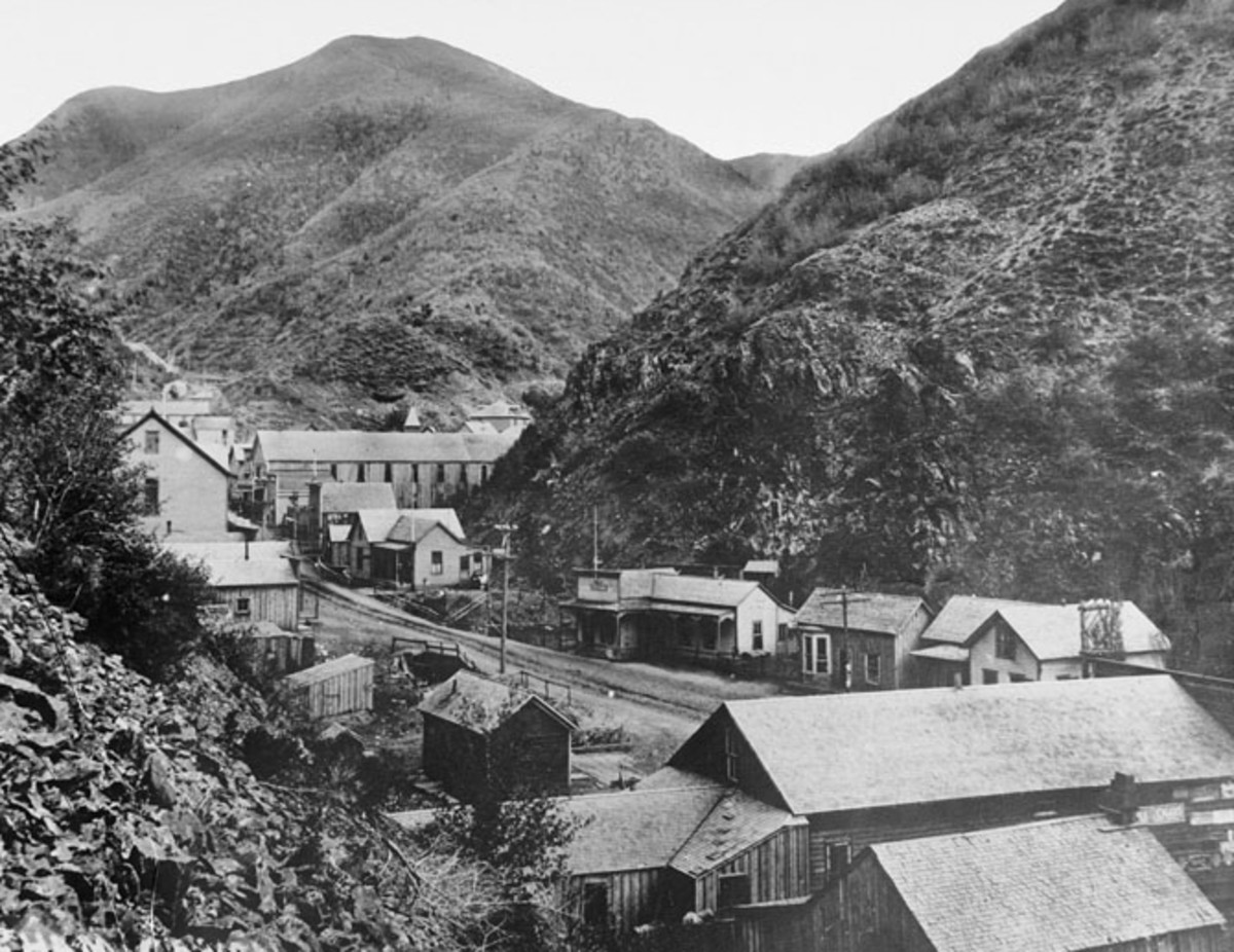 The early days of Bingham Canyon