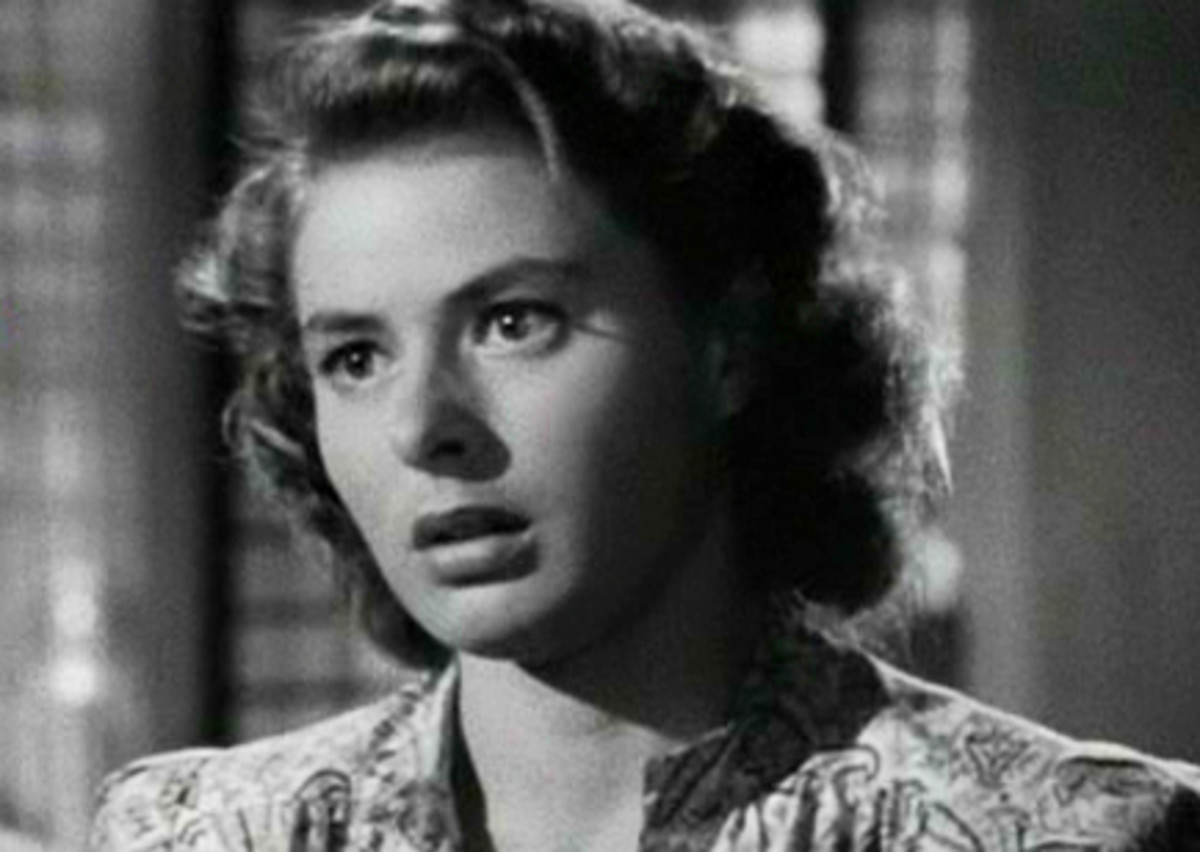 Ingrid Bergman: born 29 August 1915 died 29 August 1982 was a renowned film star