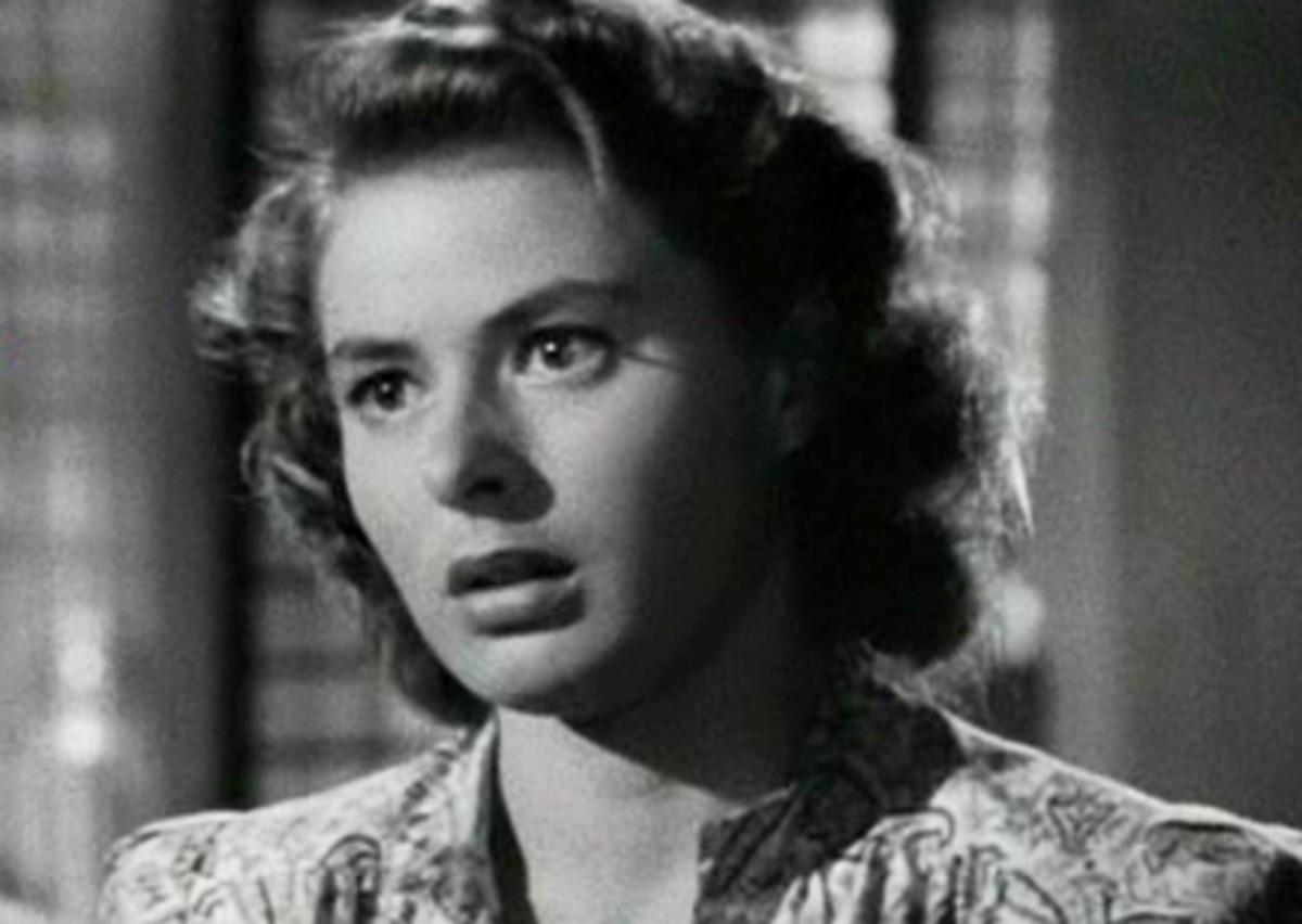 Ingrid Bergman: born 29 August 1915 died 29 August 1982 was a renowned film star