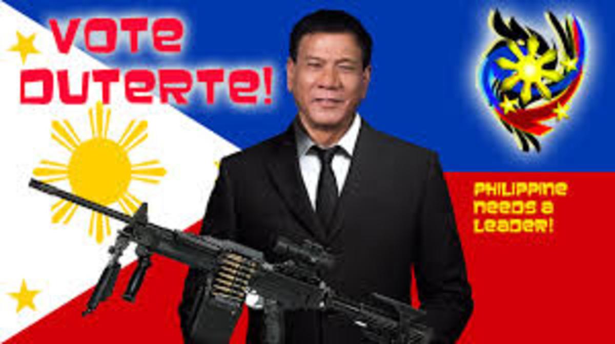The new Filipino President