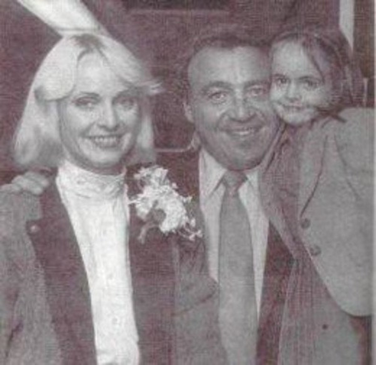Dianne and Alan Masters with their daughter