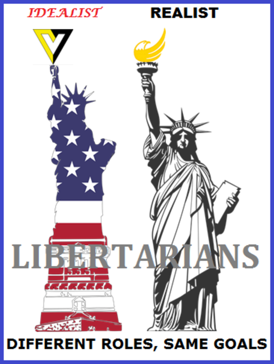 Can all libertarians work together to take realistic steps toward idealistic goals?