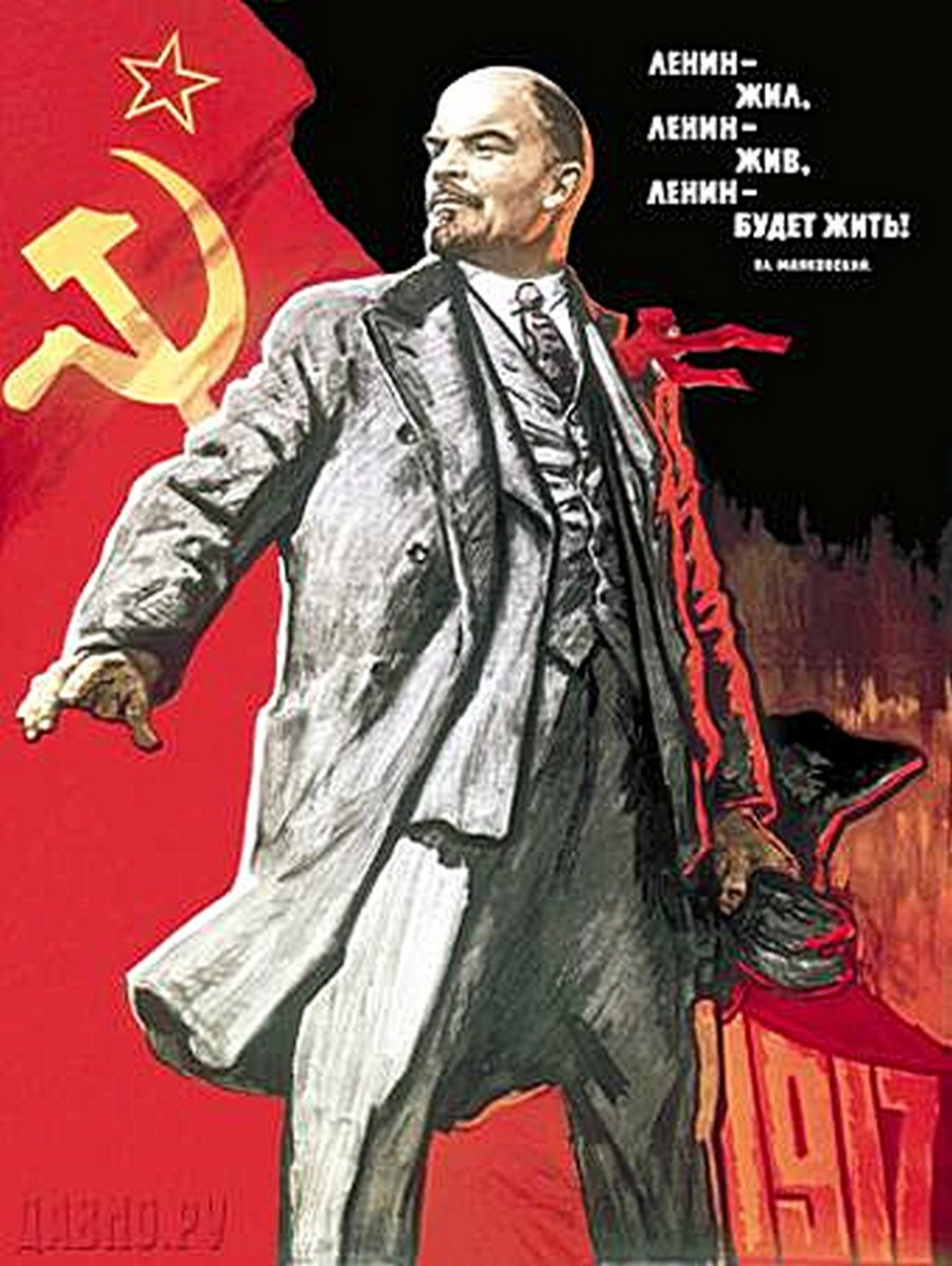 Why would someone opposed to America's One-Percenters idolize Vladimir Lenin, the elitist dictatorial One-Percenter of his place and time?