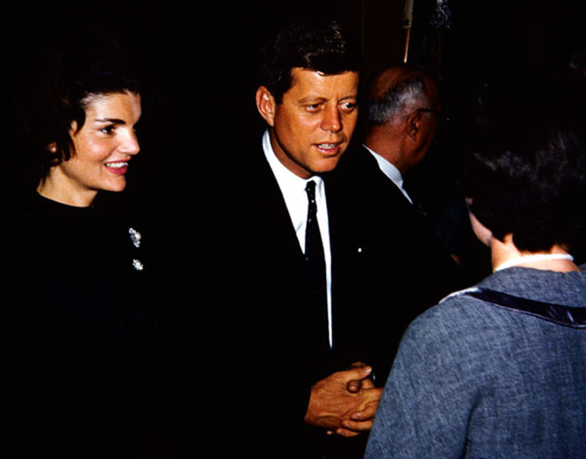 "JFK and Jackie during ""Camelot"""