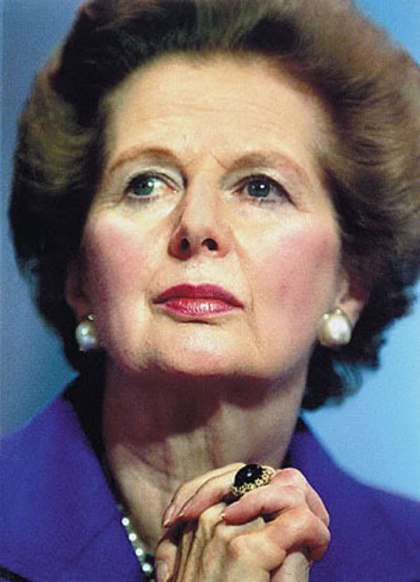 Margaret Thatcher the other woman Prime Minister the UK had from 1979 - 1990.