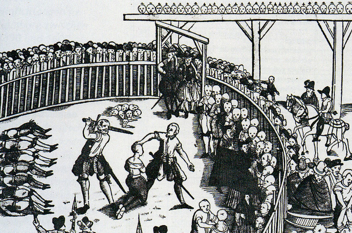 All the fun of public beheadings in 16th century Hamburg.