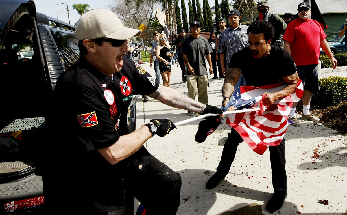 Days after Trump's election, several protest, riots, and attacks by both sides erupted across the country.