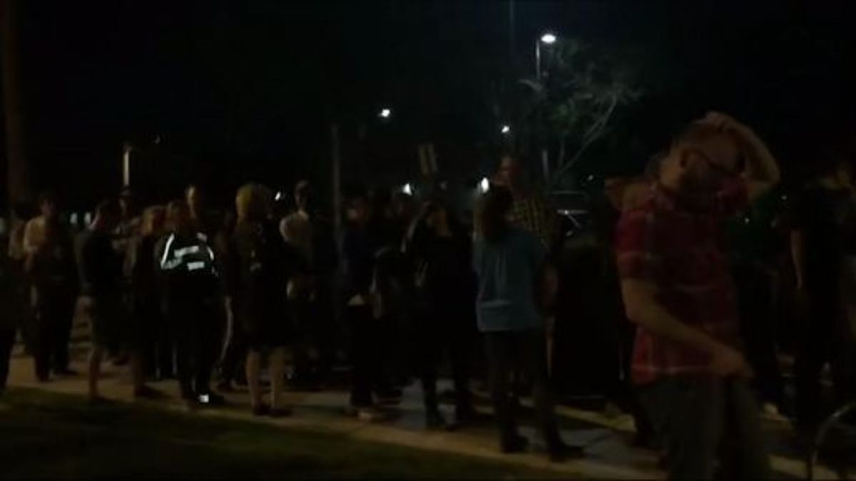 Voters waiting to vote in Arizona late into the night due to five-hour lines.