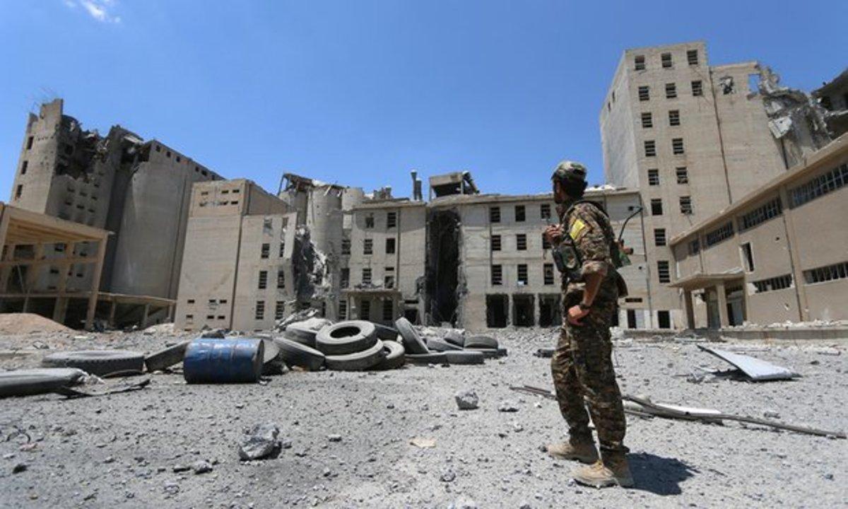 War torn Syria
