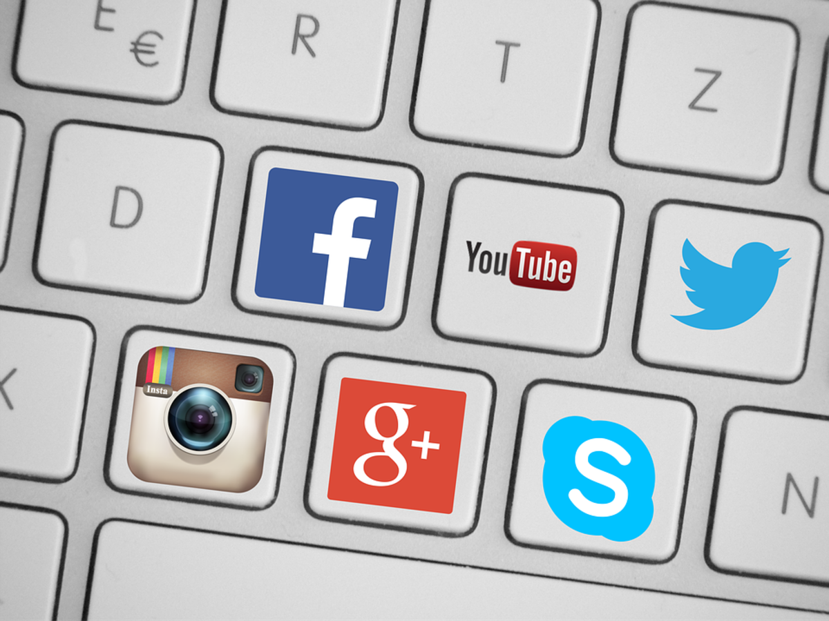 Social media platforms used by extremist and terrorist organizations to recruit young people.