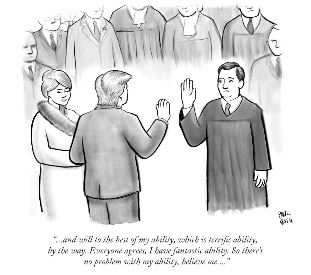 The New Yorker Cartoon About the Trump Presidency