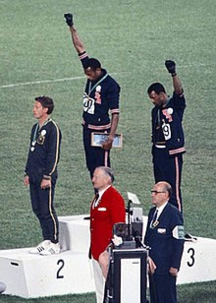 Protesting during a national even is not new and its not without its consequences either.  As was the case during the 1968 Olympics.
