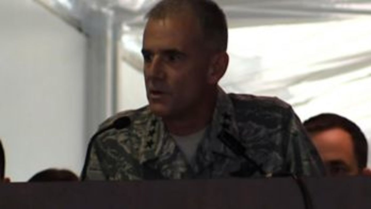 Lt, Gen. Jay Silveria acknowledges that the racial slur incidents at the USAF academy reflect the larger issues of race across the nation.