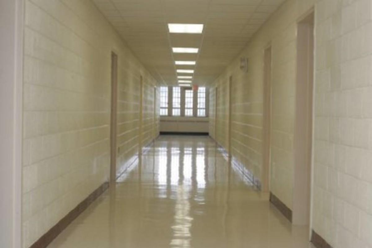 Virginia Tech University - Norris Hall, Second Floor Hallway