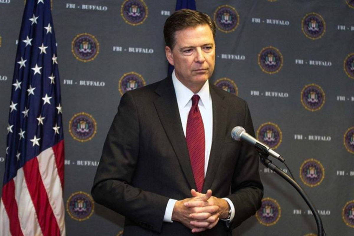 James B, Comey Jr. served as the seventh Director of the Federal Bureau of Investigation from September 4, 2013 until his dismissal on May 9, 2017.