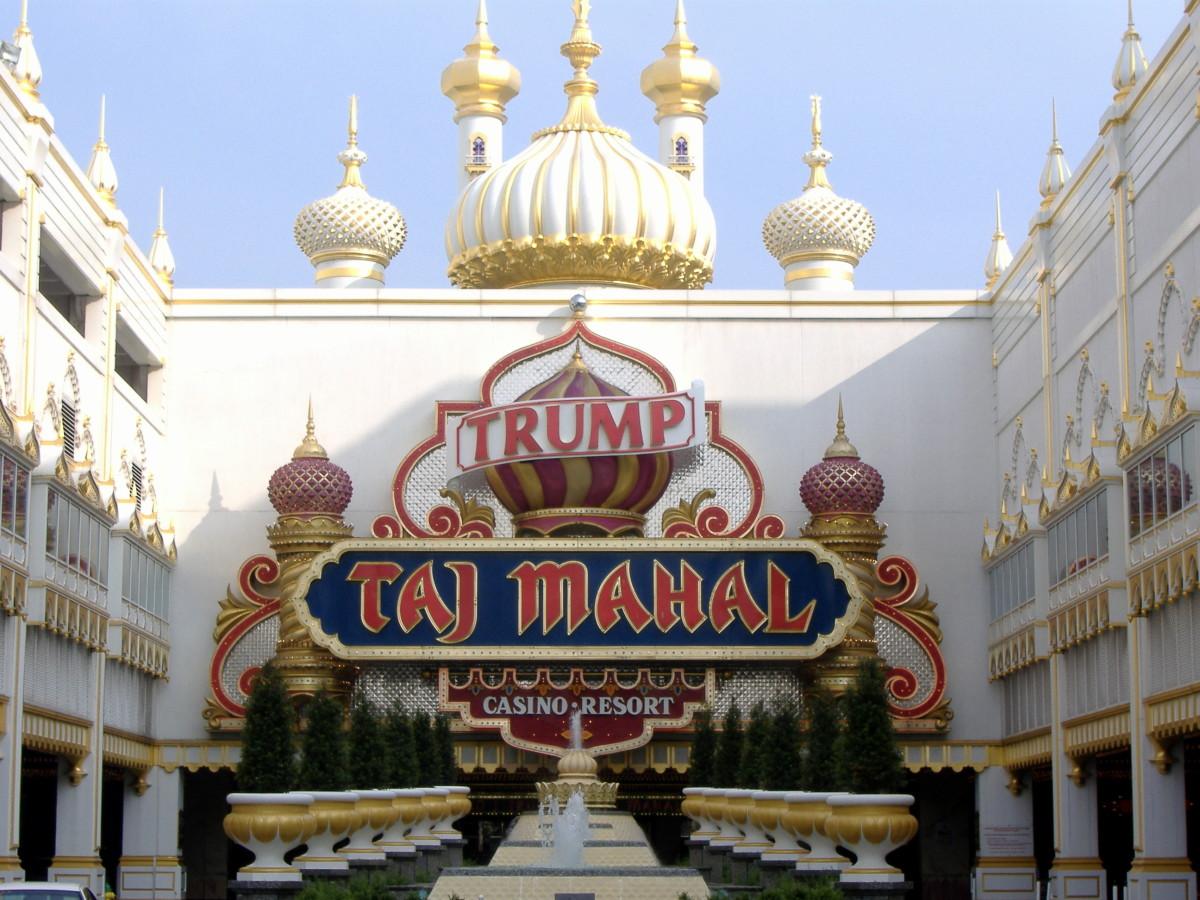 Trump Taj Mahal in 2007.