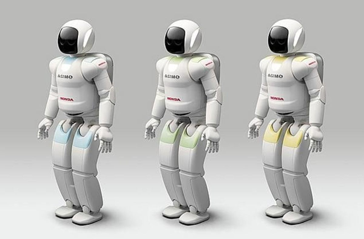 ASIMO robot - Japan leads the world in robotics