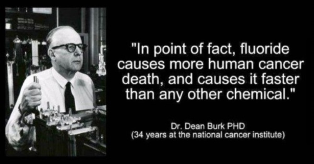 Dean Burk, Ph.D., Chief Emeritus, U.S. National Cancer Institute (former head of the NCI's cytochemistry section)