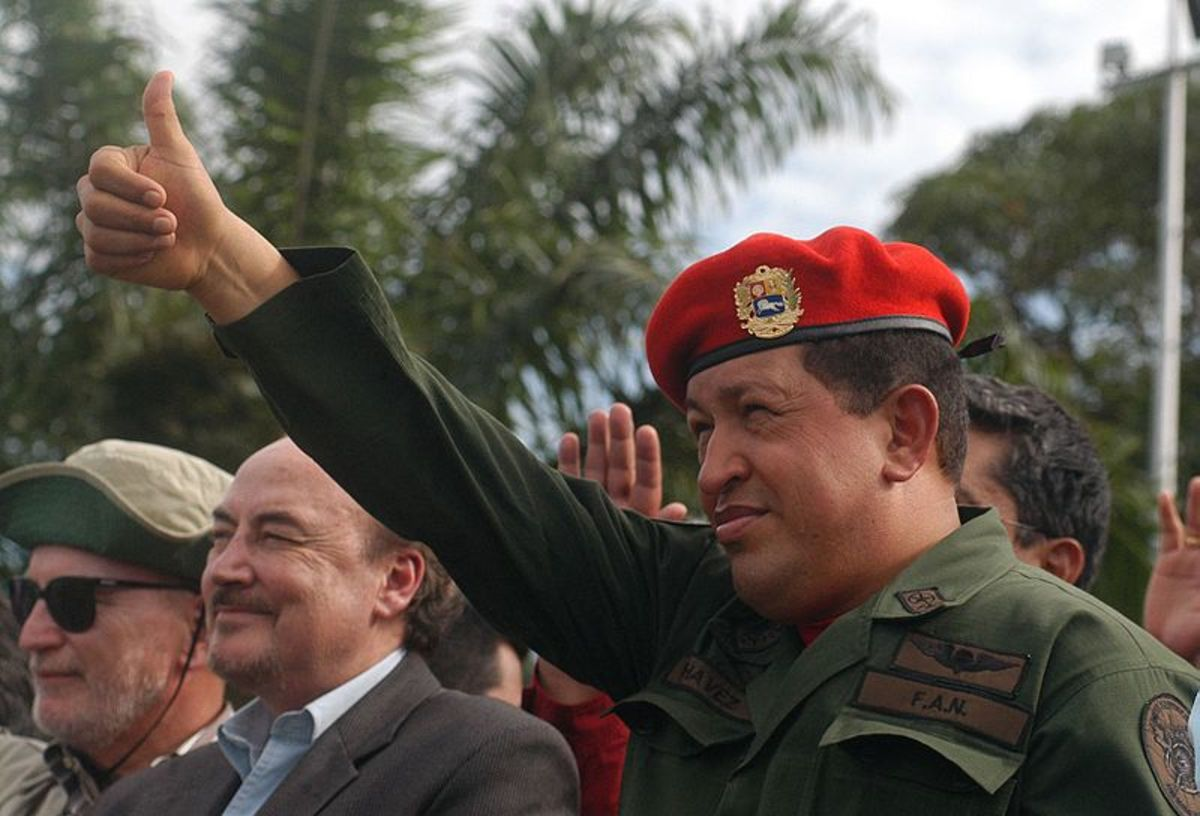 Hugo Chavez was the populist leader of Venezuela from 1998 to 2013. His left-wing economic policies wrecked the country's economy.