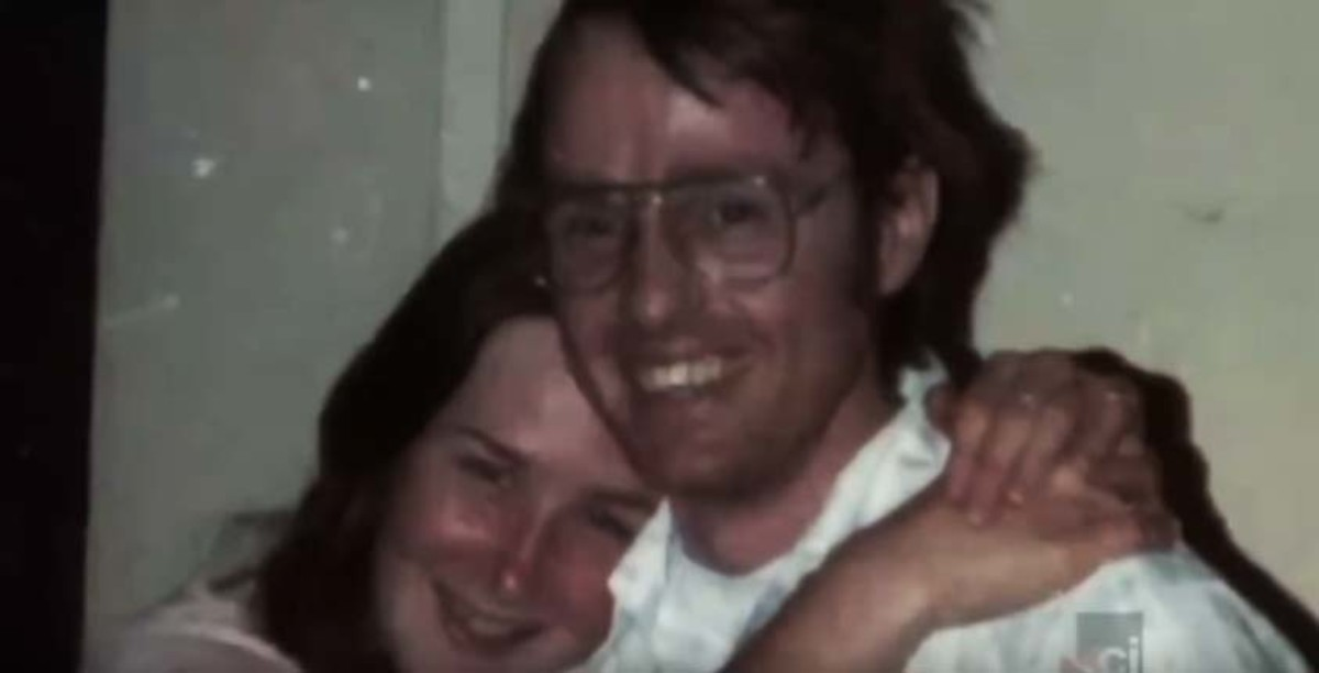 'I was just happy to see my family again,' Colleen said when recalling the day this photo was taken. Her captor Cameron Hooker posed as her boyfriend when he accompanied Colleen to visit her family.