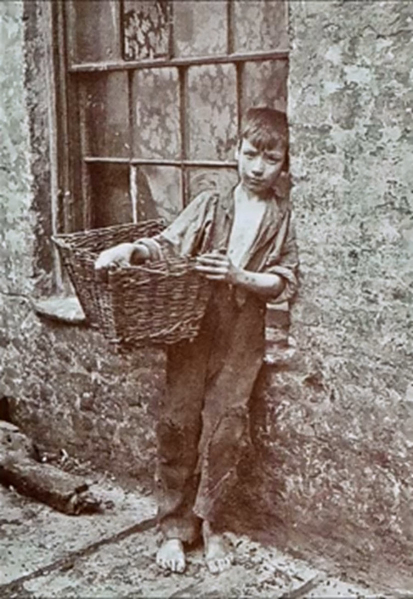 Victorian Street Children Would Often Run Errands to Earn a Little Money