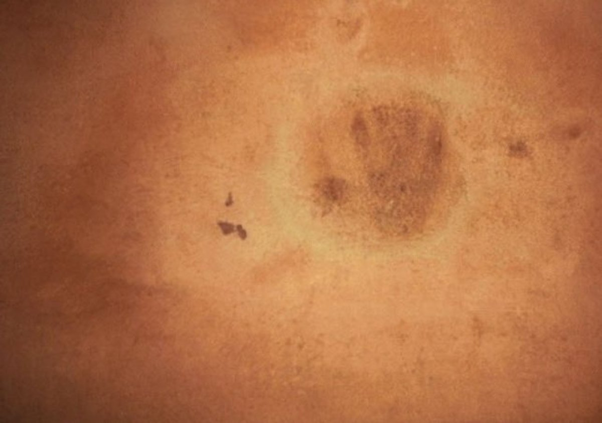 Handprint of a Molly Maguire