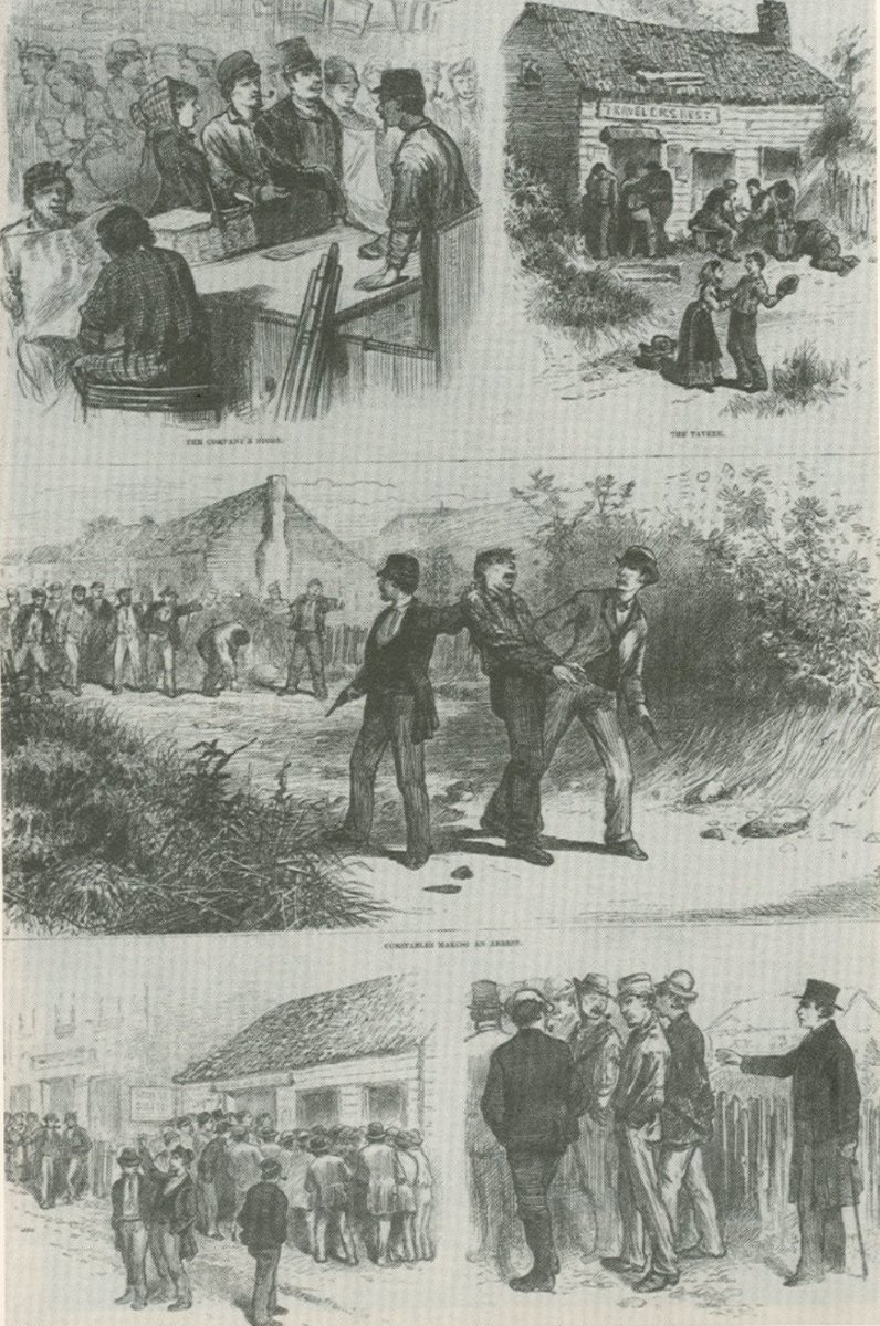 Arrests of Molly Maguires