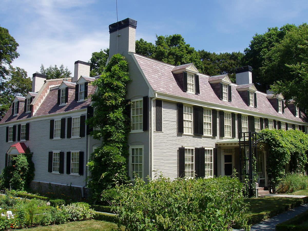Adams home in Quincy, Massachusetts.