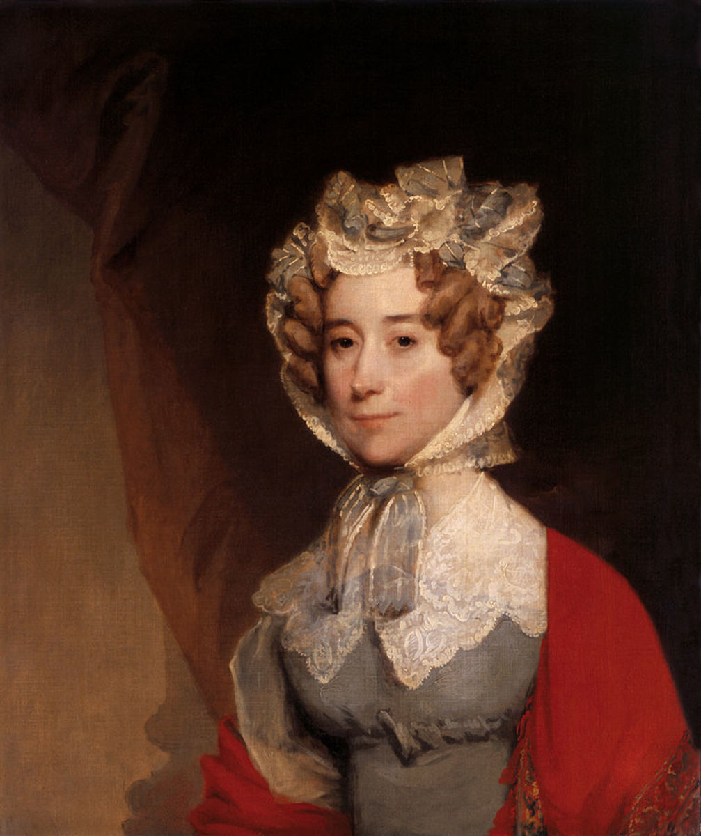 Louisa Adams as First Lady.