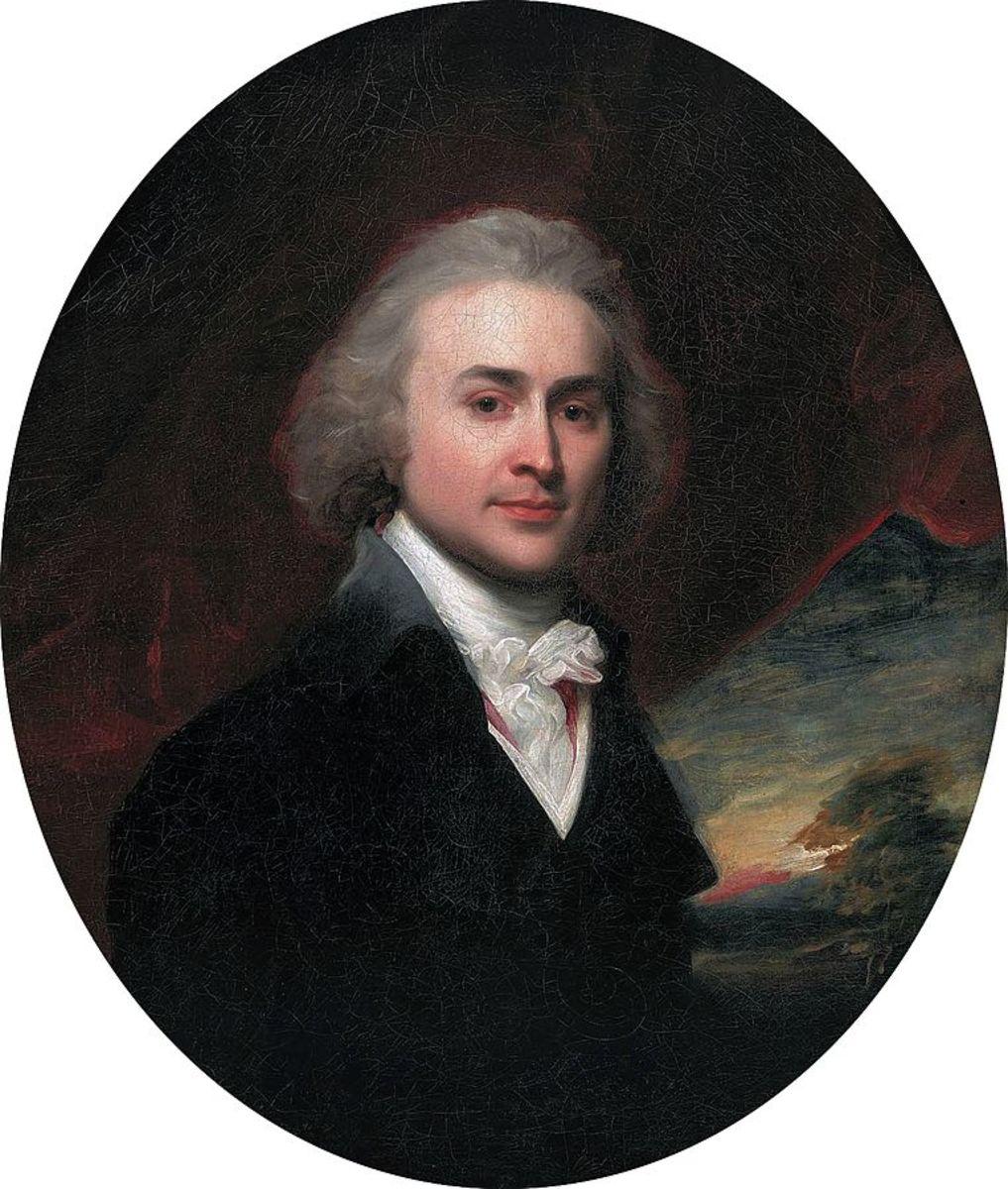 John Quincy Adams at age 28.