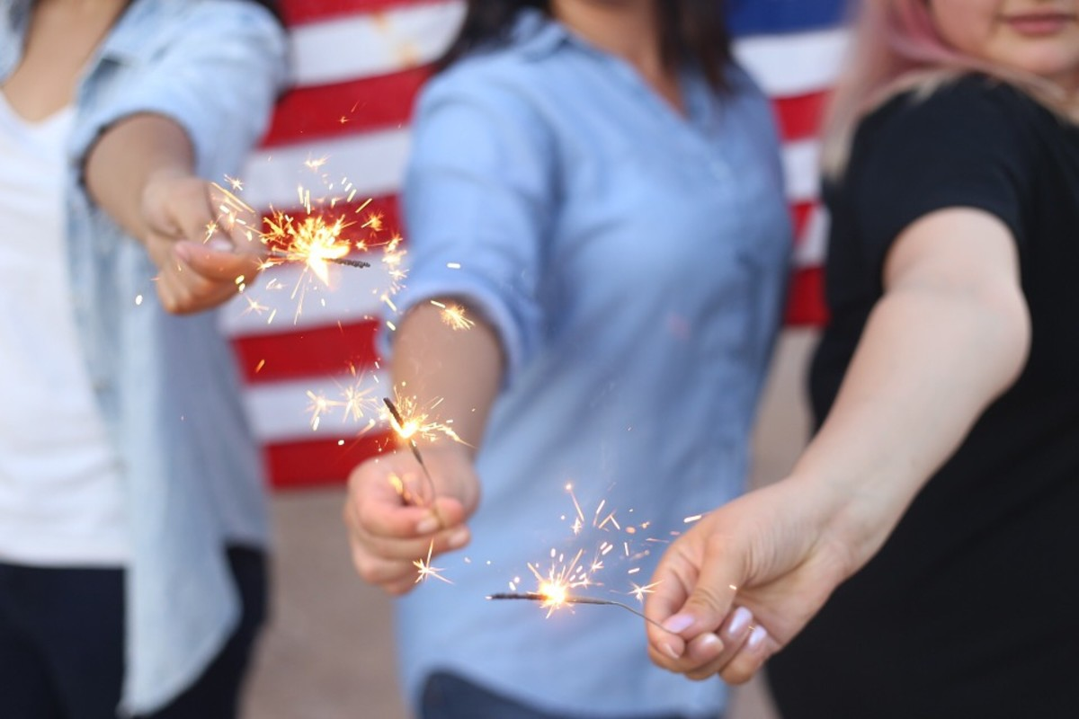 Sparklers alone account for more than 25% of fireworks-related emergency room visits.