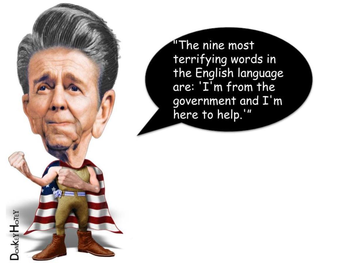 President Ronald Reagan, 1981–1989