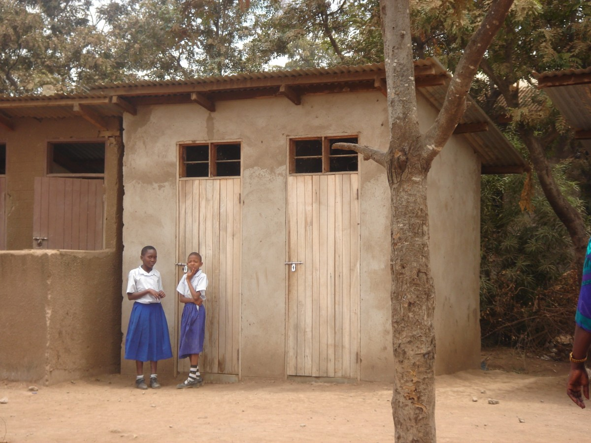 Adequate sanitation and hygiene facilities should be provided by schools, governments and religious bodies so that girls have a place to change and clean up during menstruation.