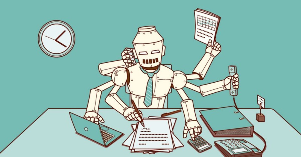 If you work a desk job, there is still reason to be concerned that your job may some day be replaced by artificial intelligence or a robot.