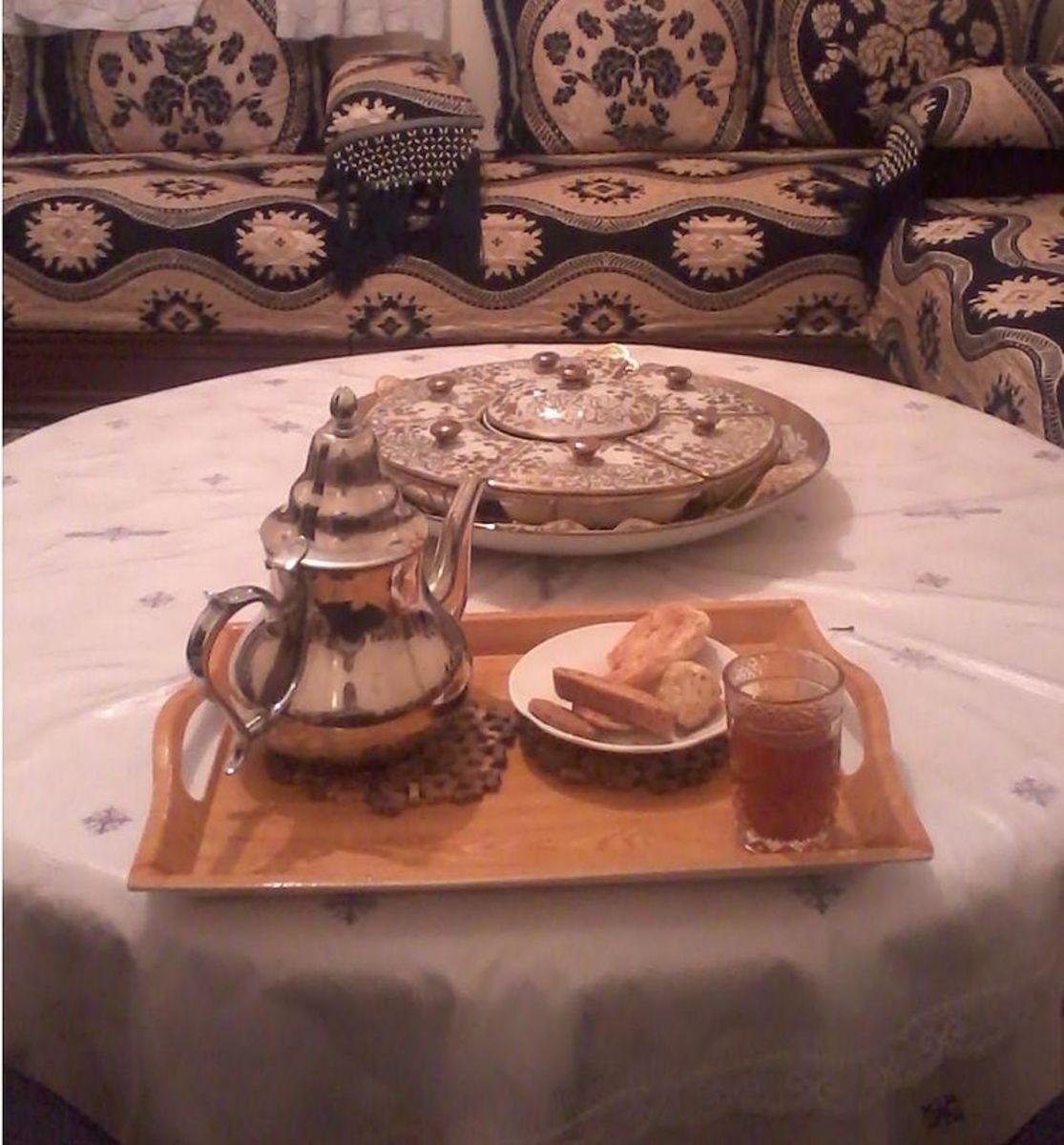 Crunchy tea cakes.