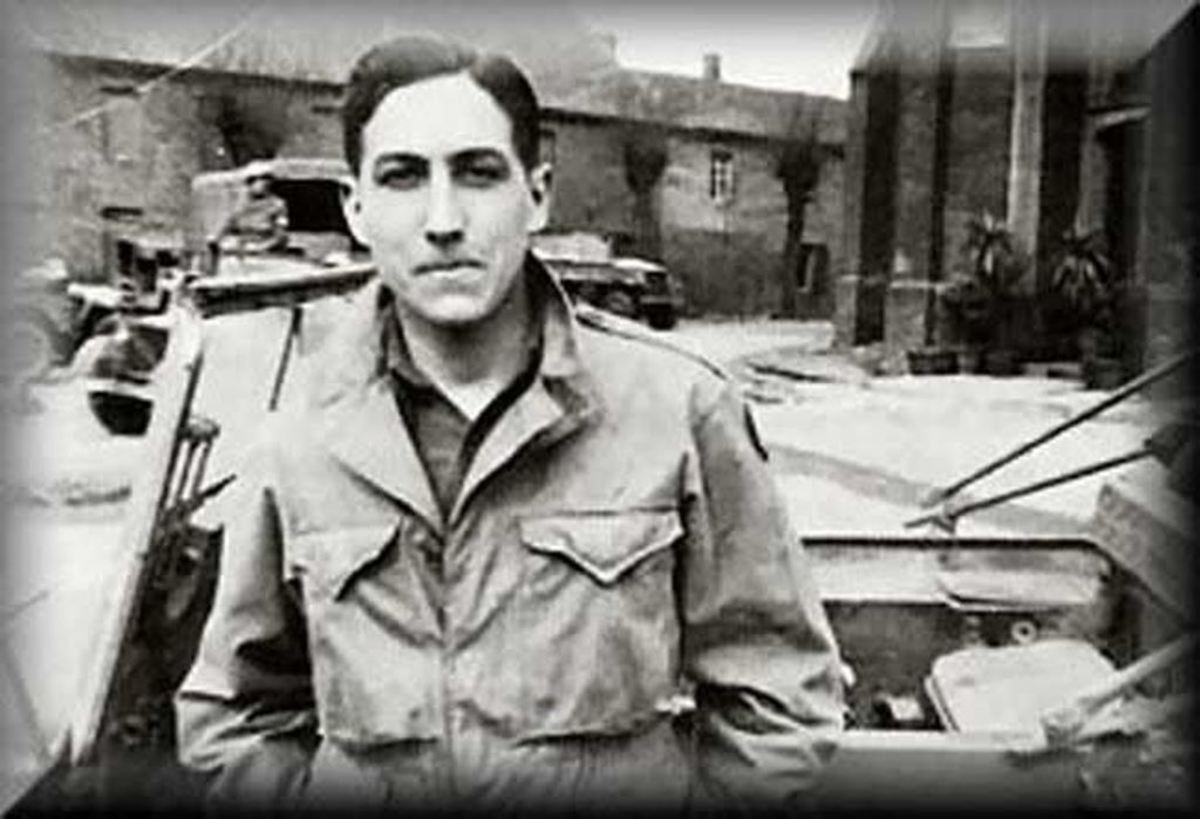 Leno serving as an MP during the War.