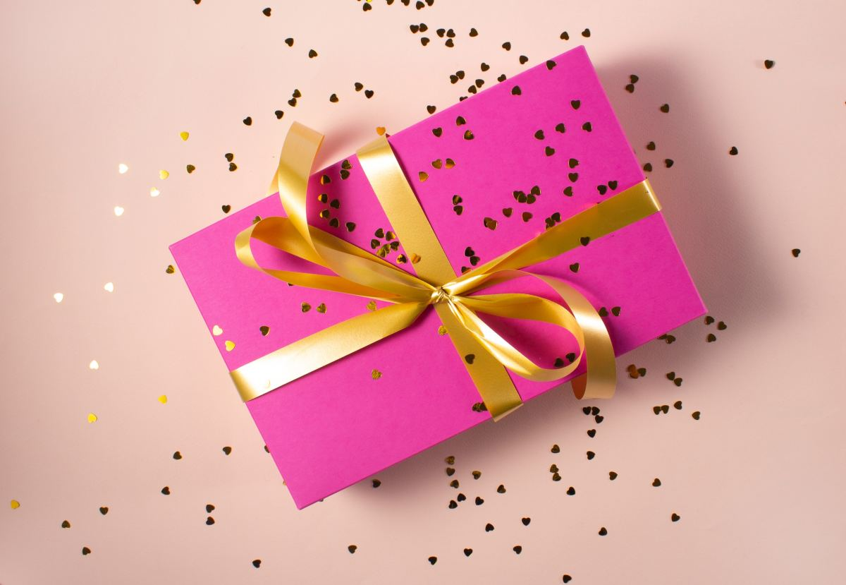 Make giving gifts feel extra good :D