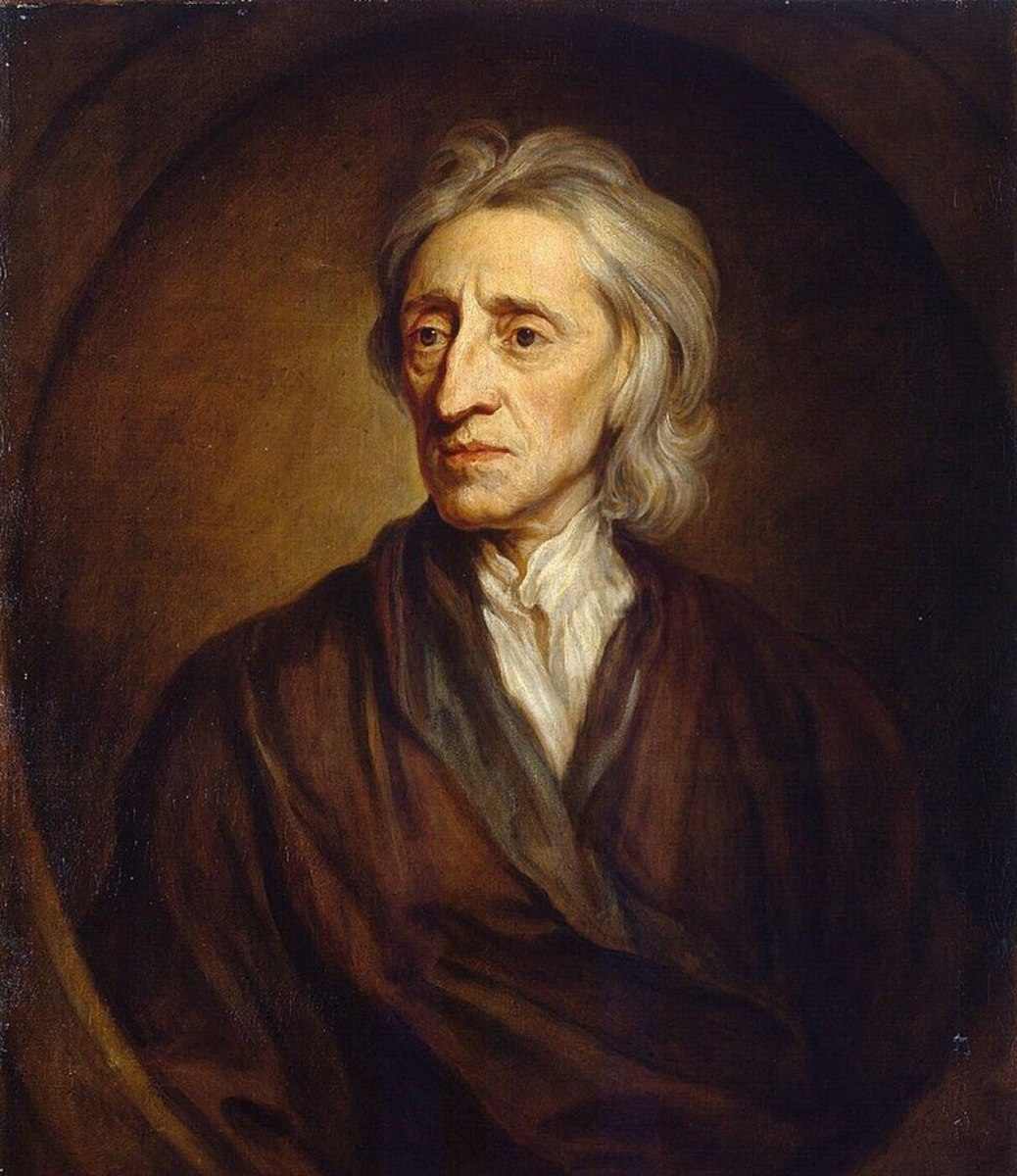John Locke; a Seventeenth Century philosopher credited with many of the concepts introduced in the U.S. Constitution.