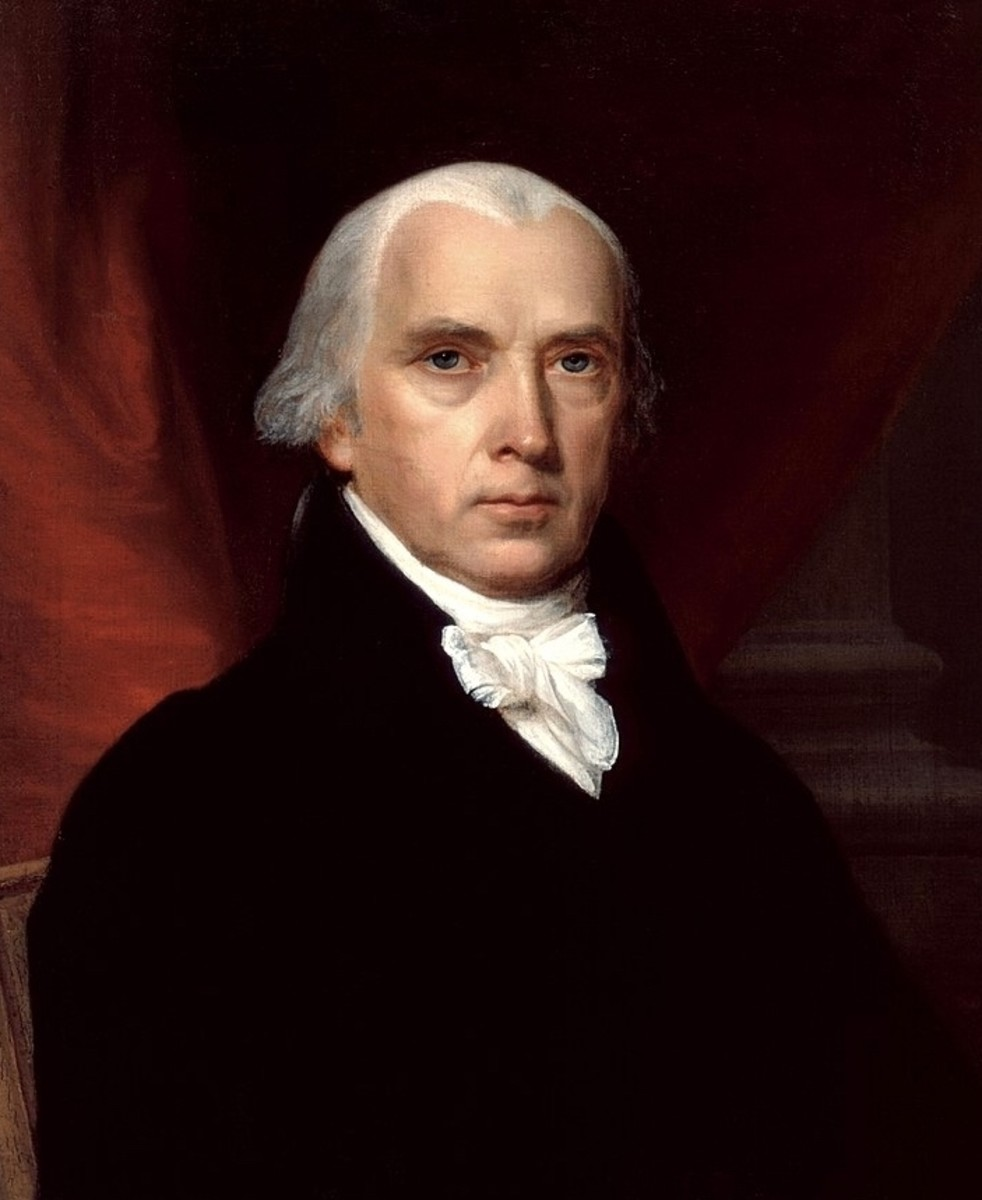 "James Madison; often referred to as the ""Father of the Constitution"" due to his remarkable insight and contributions to the Constitution."