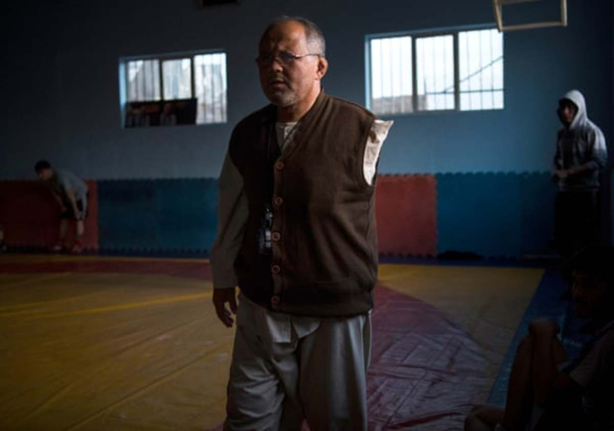 Coach of wrestling club bombed by ISIS in Kabul