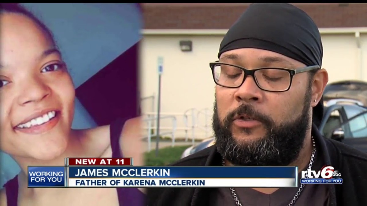 Karena McClerkin's father, James McClerkin has been tirelessly searching for his daughter since the day she disappeared in October 2016. Photo courtesy of RTV6.