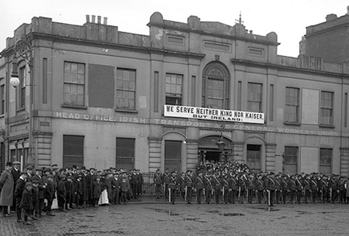 James Connolly was co-founder of the Irish Citizens Army - Europe's first Red Army